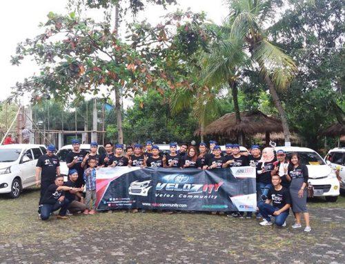 Kemeriahan 1st Anniversary Velozity Chapter Banten (NV-10) Di RM Sari Kuring Indah Baros