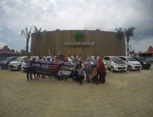 Keseruan Kopdar & Touring Ala Velozity Chapter Banten (NV-10) Di Coconut Island Carita, Anyer