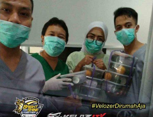Velozity adakan baksos dukung tenaga medis dalam menghadapi pandemic covid-19 di Bogor