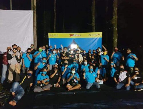 Velozity Bekasi Chapter(Velbec) adakan mini touring dan camping sambut Anniversary ke 6 dan HUT RI ke-75